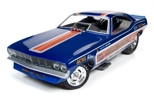 Auto World 1/18 Whipple & McCullough 71 Plymouth Cuda Funny Car
