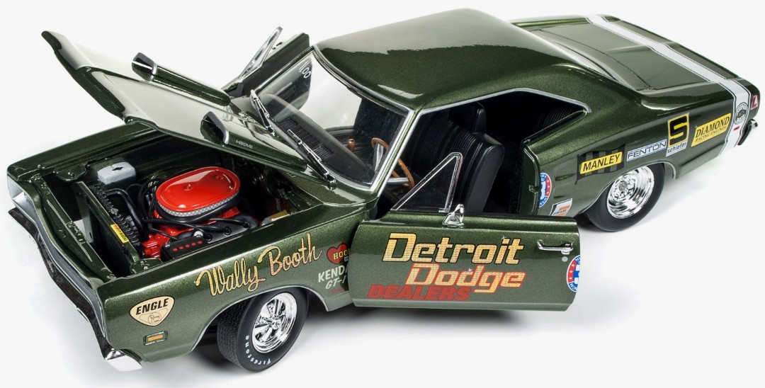 Auto World 1/18 1969 Dodge Super Bee (Wally Booth)