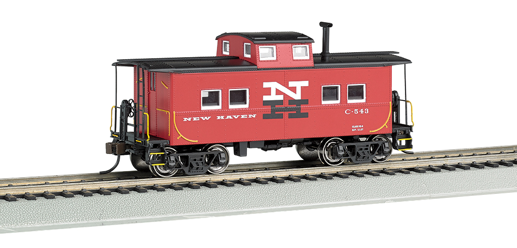 Bachmann New Haven #C-543 - NE Steel Caboose