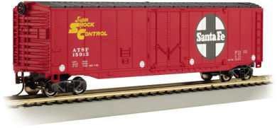Bachmann Santa Fe - 50' Plug Door Box Car