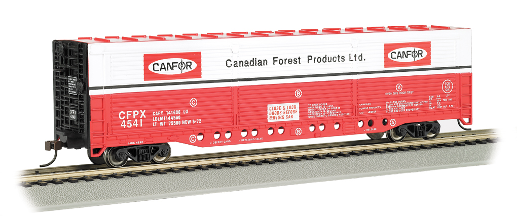 Bachmann Canadian Forest #4541 - Evans All-Door Box Car