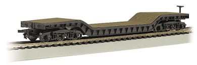Bachmann 52' Center-Depressed Flat Car - with No Load