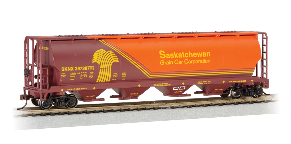 Bachmann Saskatchewan - 4 Bay Cylindrical Grain Hopper