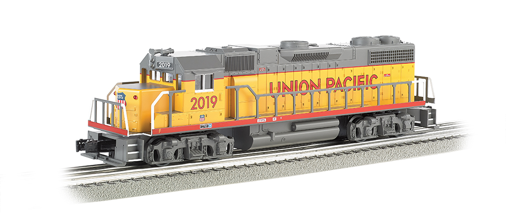 Bachmann Williams Union Pacific #2019 - GP-38 Powered (O Scale)