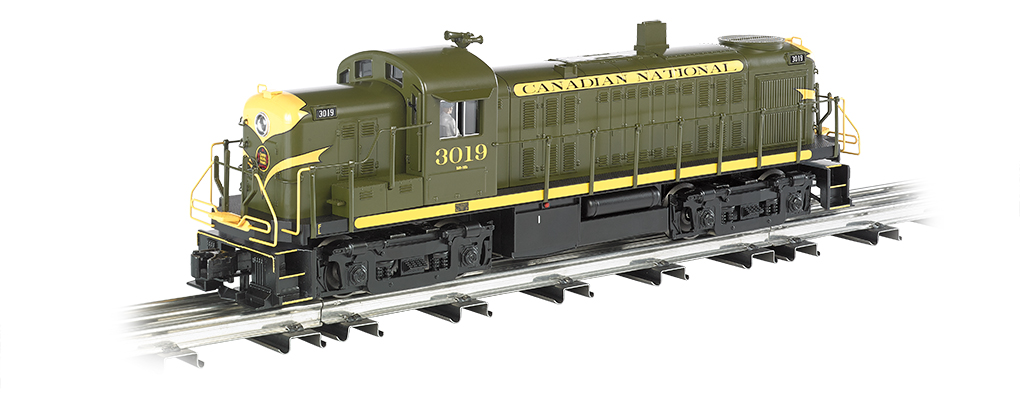 Bachmann Williams Canadian National - RS-3 (O Scale)