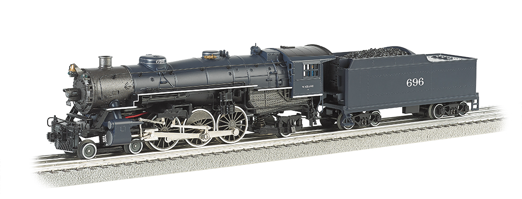 Bachmann Williams Wabash #696 Semi-Scale 4-6-2 Pacific (O Scale)