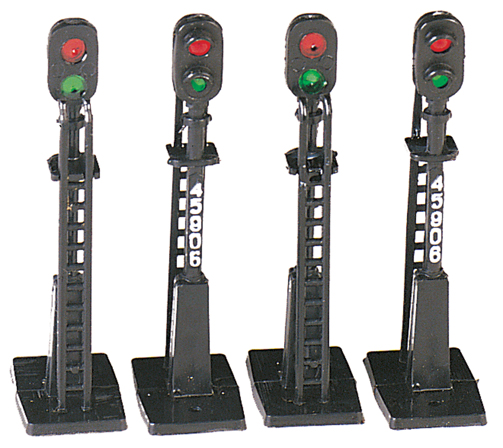 Bachmann Block Signals (HO Scale) (4)