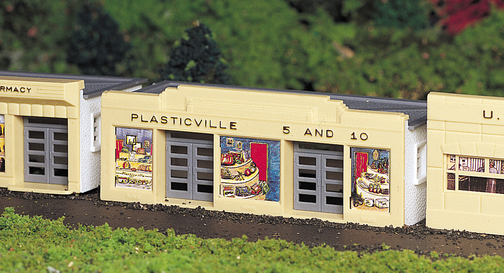 Bachmann 5 & 10 Store - Plasticville USA Building (HO Scale)