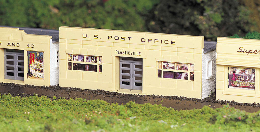 Bachmann Post Office - Plasticville USA Building (HO Scale)