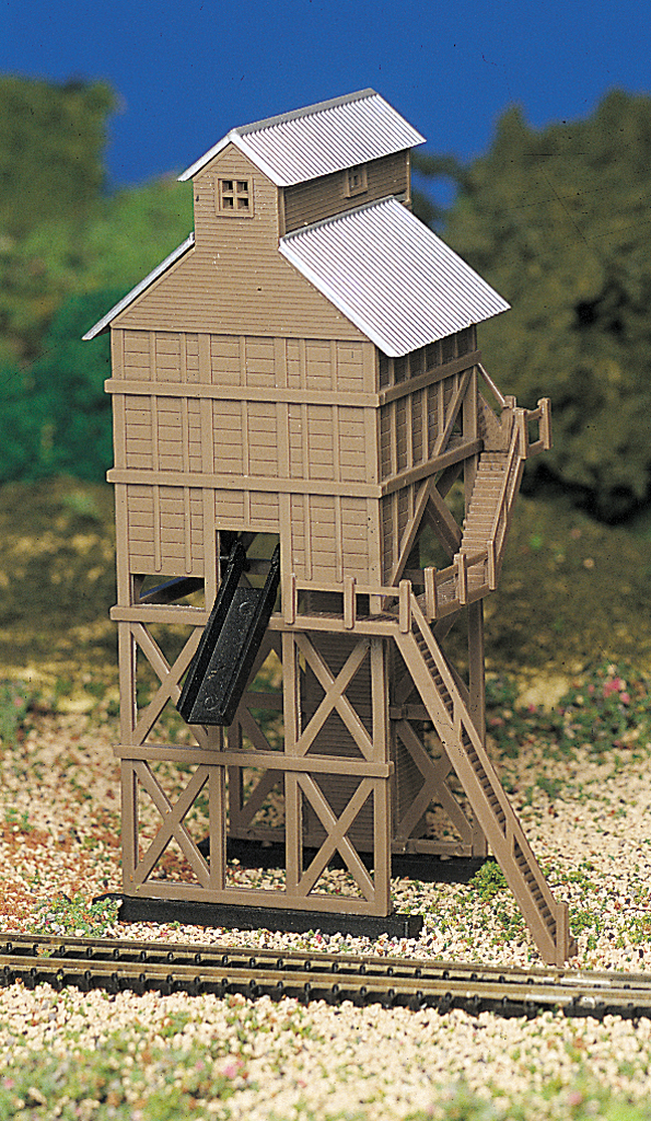 Bachmann Coaling Station - Plasticville USA Building (N