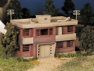 Apartment Building Building (O Scale)