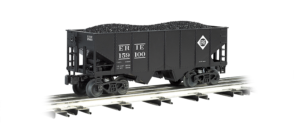 Bachmann Williams Erie 55-Ton 2-Bay USRA Outside Braced Hopper (