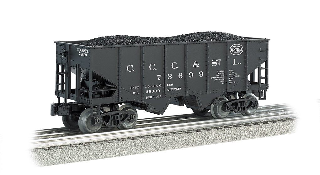 Bachmann Williams New York Central Big Four- 55-Ton 2-Bay USRA O