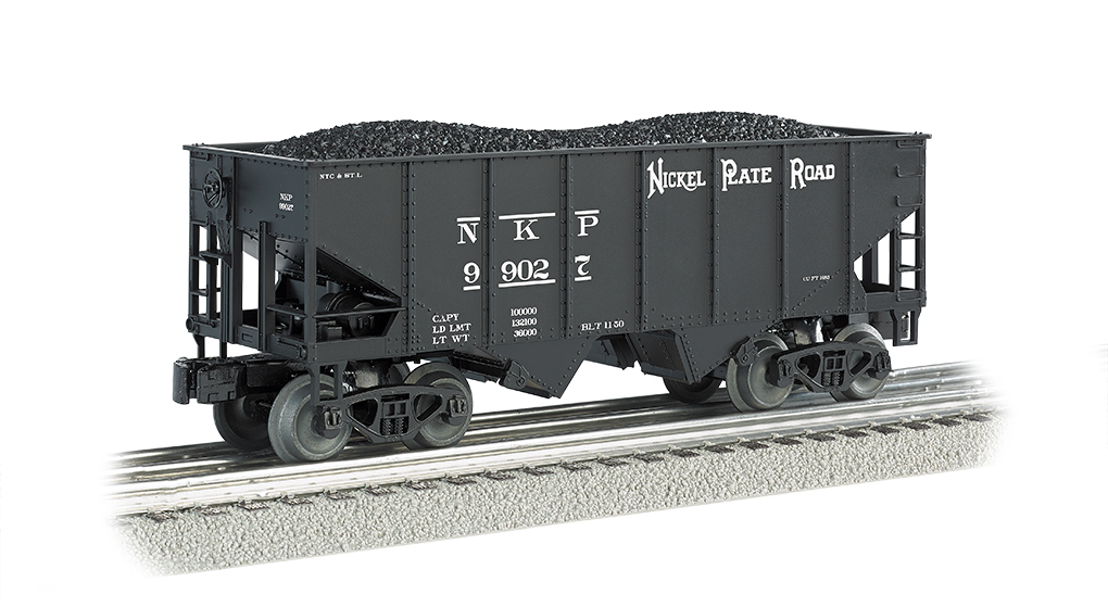 Bachmann Williams Nickel Plate Road- 55-Ton 2-Bay USRA Outside B