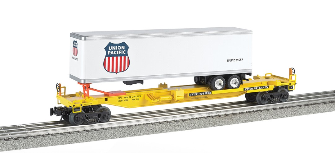 Bachmann Williams Front Runner with Union Pacific Trailer (O Sca