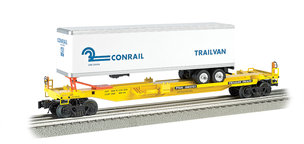 Bachmann Williams Front Runner with Conrail Trailer (O Scale)