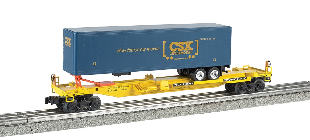 Bachmann Williams Front Runner with CSX Trailer (O Scale)
