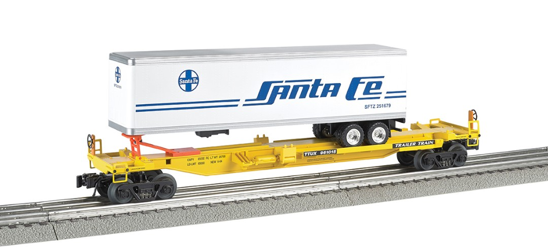 Bachmann Williams Front Runner with Santa Fe Trailer (O Scale)