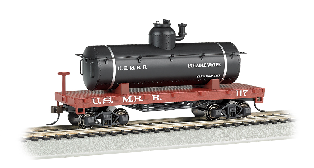 Bachmann US Military Railroad - Old-Time Tank Car
