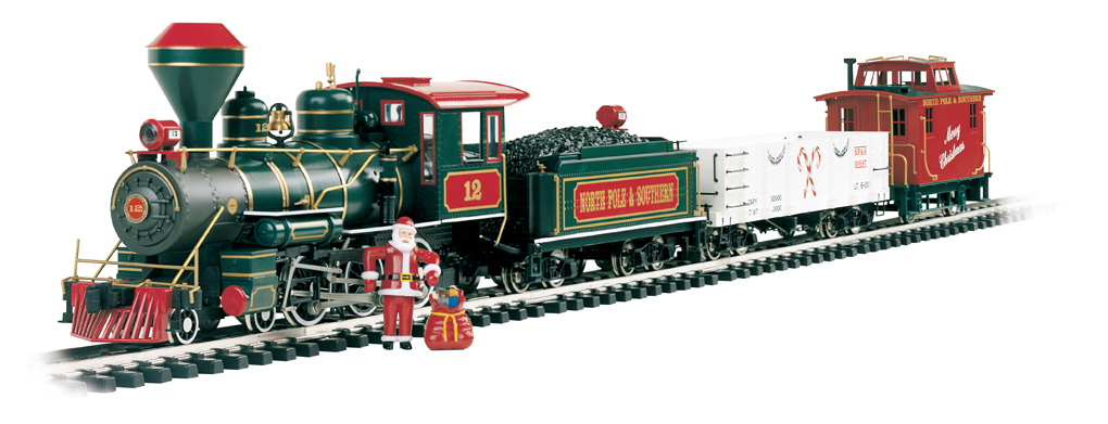 Bachmann Night Before Christmas Train Set (Large Scale)
