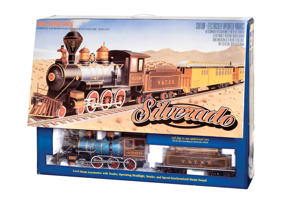 Bachmann Silverado (Large Scale) Train Set