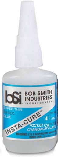 Bob Smith Industries INSTA-CURE POCKET Super Thin CA (4oz)