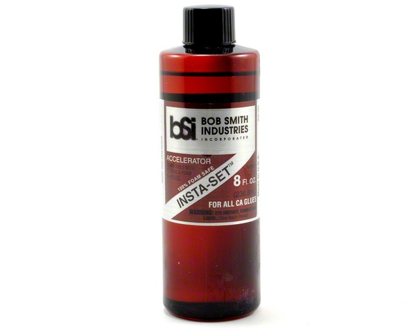 Bob Smith Industries INSTA-SET Foam Safe Accelerator (8oz)