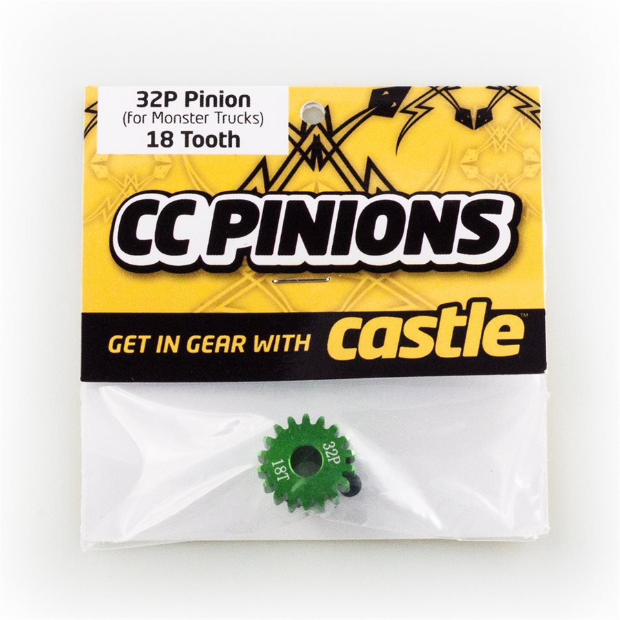 Castle Creations CC Pinion 16 tooth - 32 Pitch