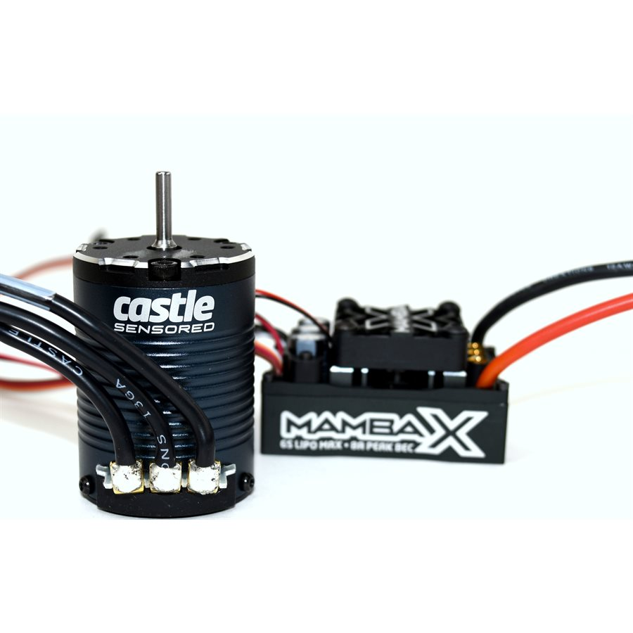 Castle Creations Mamba X, 25.2v WP ESC And 1406-2280KV Sensored
