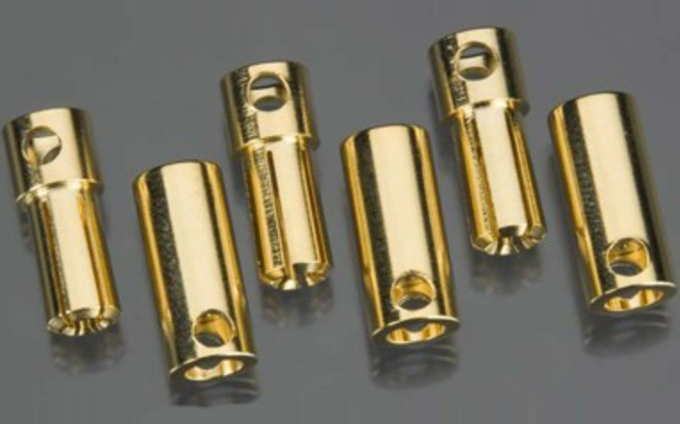 Castle Creations 5.5mm High Current Bullet Connector Set (3ea)