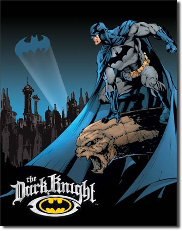 Batman The Dark Knight - Rectangular Tin Sign
