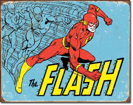 The Flash - Rectangular Tin Sign