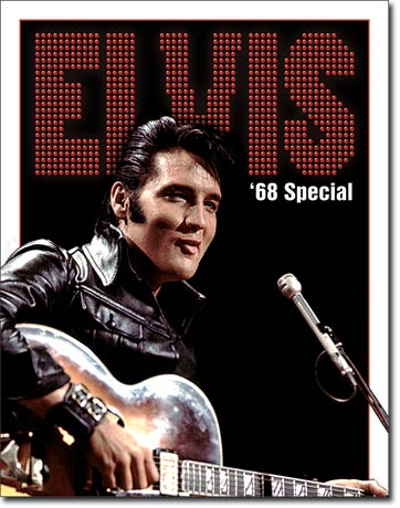 Elvis - '68 Special - Rectangular Tin Sign
