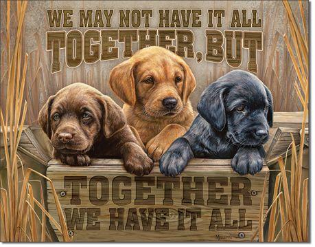 We May Not Have It All Together - Rectangular Tin Sign
