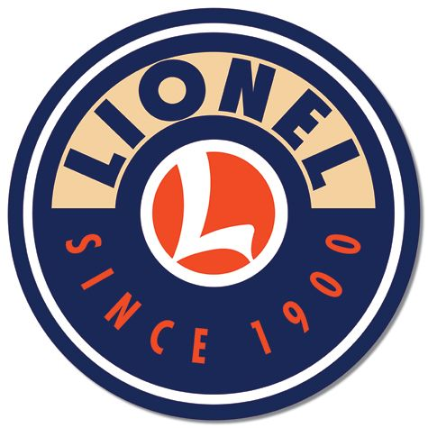 Lionel Logo - Round Tin Sign