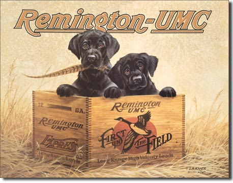 Remington - UMC - Rectangular Tin Sign