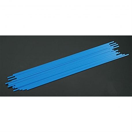 Du-Bro Antenna Tube (Blue) (24/pkg.)