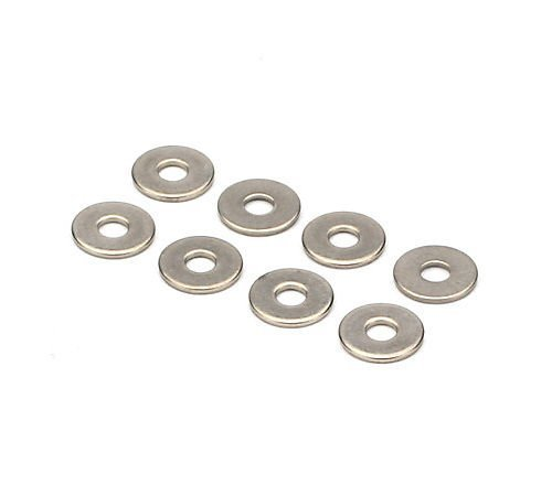 Du-Bro #6 Stainless Steel Flat Washer (8/pkg)