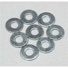 Du-Bro No. 4 Flat Washer (QTY/PKG: 8 )