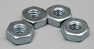 Du-Bro 4-40 Steel Hex Nuts (QTY/PKG: 4 )