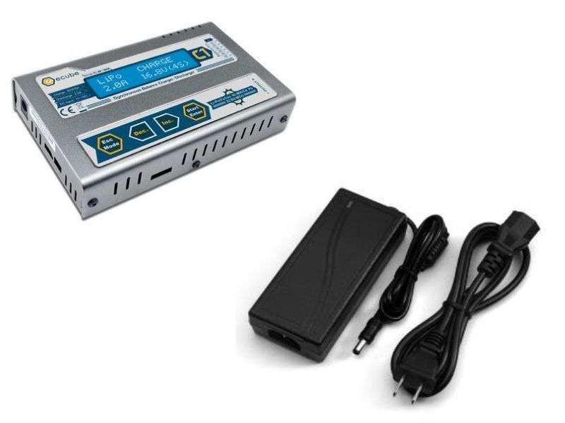 EV-Peak C1 DC Charger 5A Bundle with Power Adapter