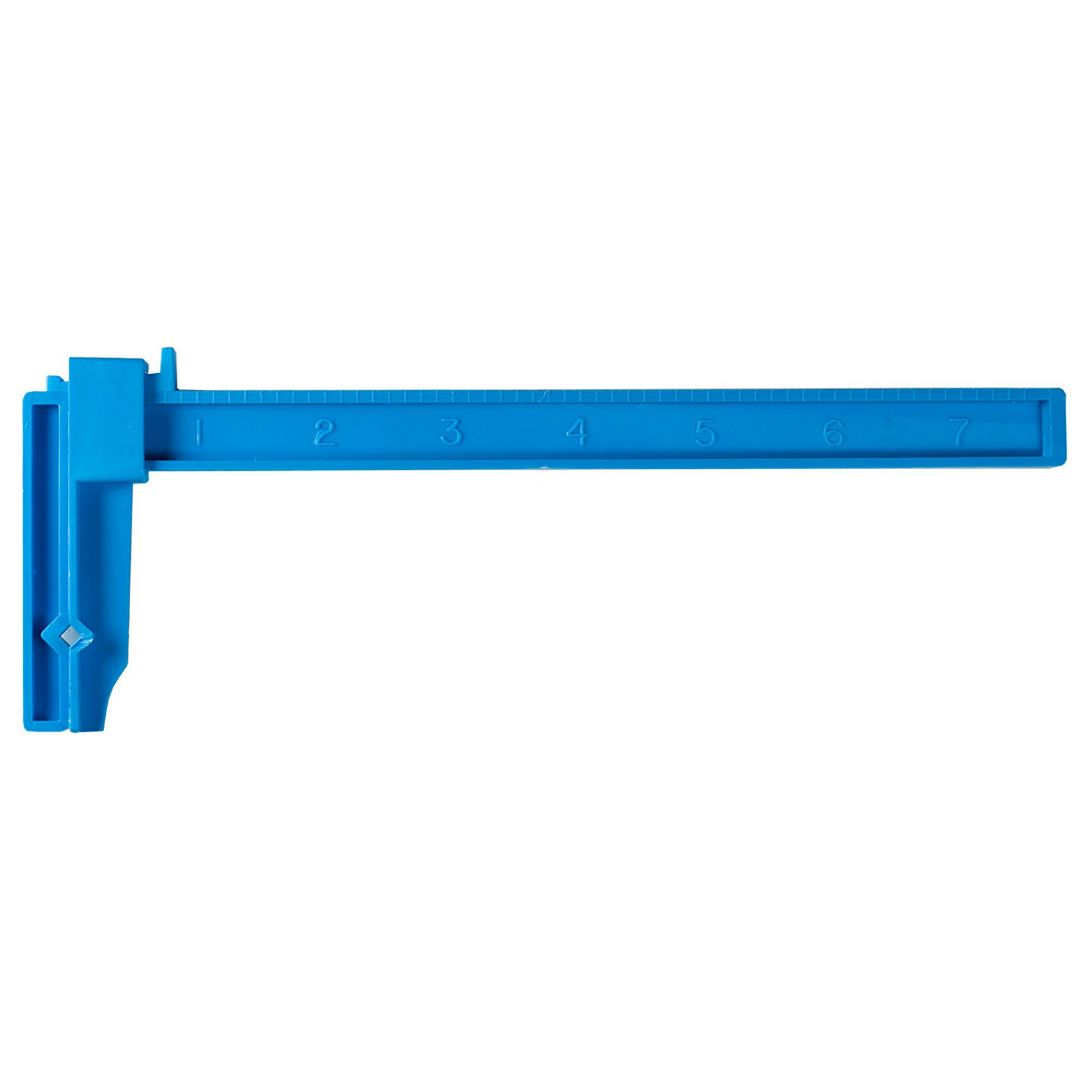 "Excel Large Adjustable Plastic Clamp - 7"" (12)"