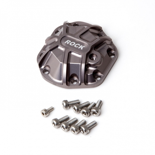 Gmade 3D Machined Differential Cover (Titanium Gray) for R1 Axle