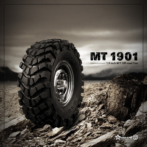 Gmade 1.9 MT 1901 Off-road Tires (2)