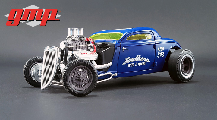 GMP 1/18 1934 Blown Altered Coupe - Southern Speed & Marine