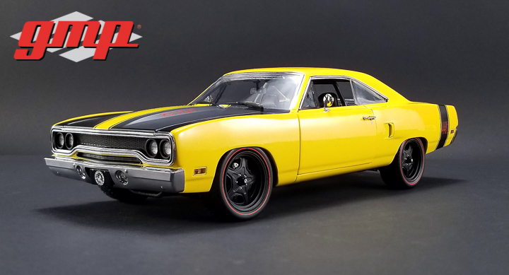 GMP 1/18 1970 Plymouth Road Runner Street Fighter 6-Pack Attack