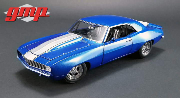 GMP 1/18 1320 Drag Kings 1969 Chevrolet Camaro