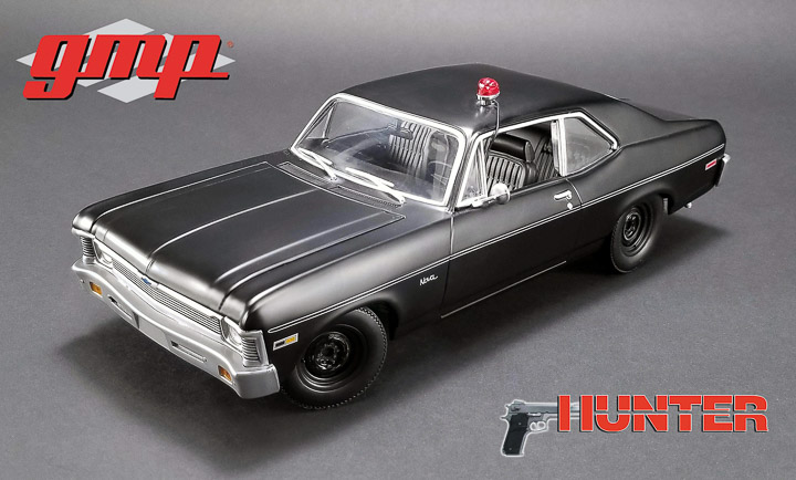 GMP 1/18 Hunter (1984-91 TV Series) - 1971 Chevrolet Nova Police