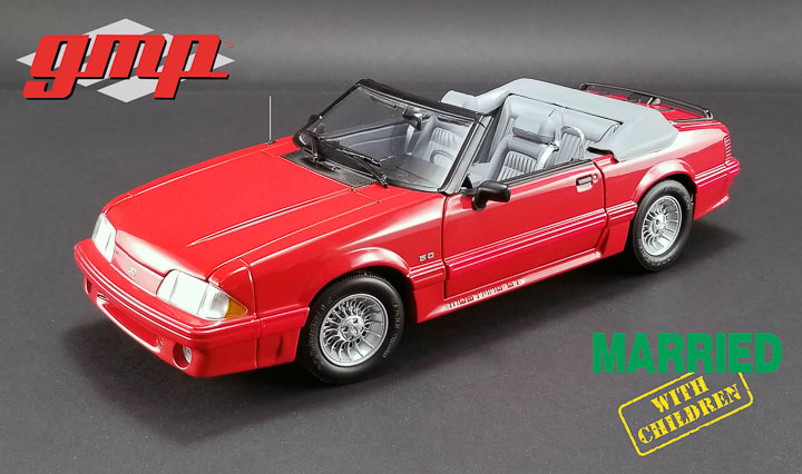 GMP 1/18 Married with Children - 1988 Ford Mustang 5.0 Convertib
