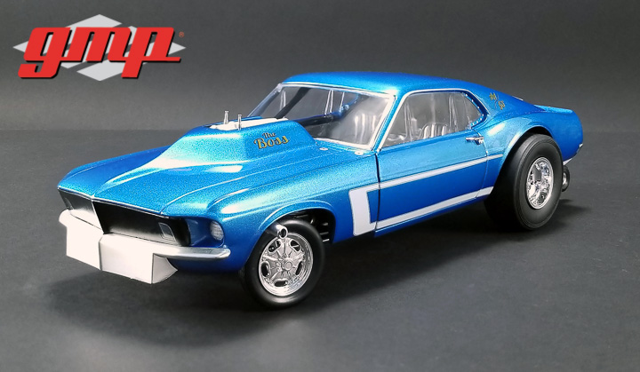 GMP 1/18 1969 Mustang Gasser - The Boss